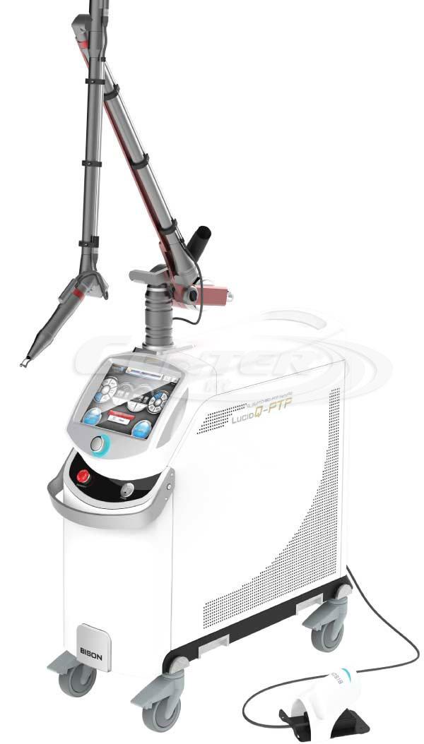 Q-Switched Nd: YAG laser spoločnosti BISON Lucid Q-PTP™